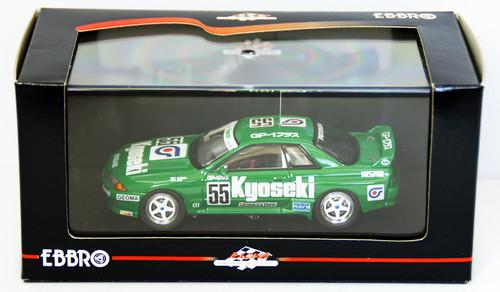 Ebbro 44158 Kyoseki Skyline Gr.A 1993 (Green) 1/43 Scale
