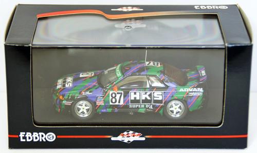Ebbro 44159 HKS Skyline Gr.A 1993 (Green/Black) 1/43 Scale
