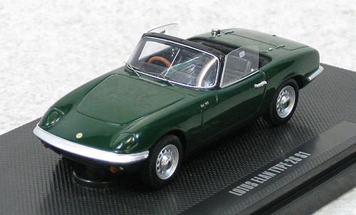 Ebbro 44163 Lotus Elan S1 TYPE 26 (Green) 1/43 Scale