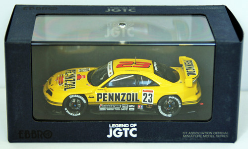 Ebbro 44191 Pennzoil Nismo GT-R Jgtc 1998 (Yellow) 1/43 Scale