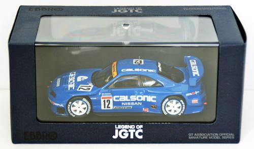 Ebbro 44192 Calsonic Skyline Jgtc 1998 (Blue) 1/43 Scale