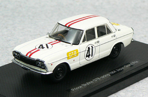 Ebbro 44240 Prince Skyline GTB Racing 1964 No.41 1/43 Scale