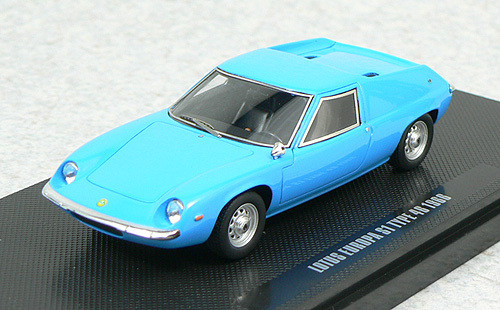 Ebbro 44279 Lotus Europa S1 1966 (Light blue) 1/43 Scale