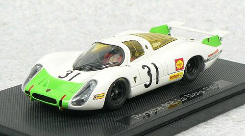Ebbro 44288 PORSCHE 908 LE MANS 1968 No.31 Green 1/43 Scale
