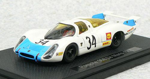Ebbro 44291 PORSCHE 908 LE MANS 1968 No.34 Blue 1/43 Scale