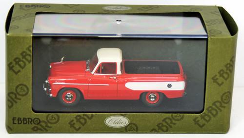 Ebbro 44344 Toyopet Masterline Pick Up 1959 (Red) 1/43 Scale