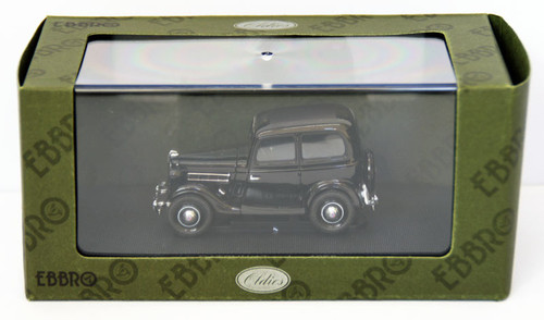 Ebbro 44345 Datsun 17 Sedan 1938 (Black) 1/43 Scale
