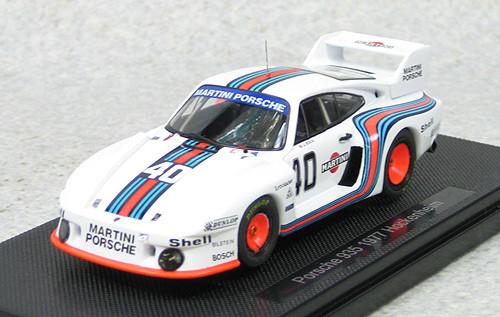 Ebbro 44358 Porsche 935 Hockenheim 1977 No.40 (White) 1/43 Scale