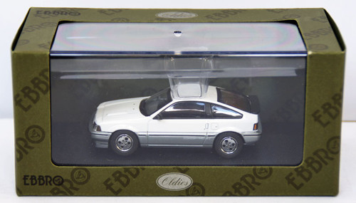 Ebbro 44373 Honda Ballade Sports CR-X Si 1984 (White) 1/43 Scale