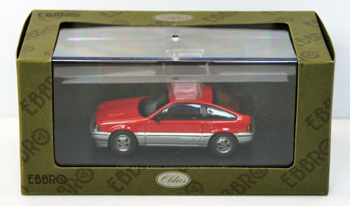 Ebbro 44374 Honda Ballade Sports CR-X Si 1984 (Red) 1/43 Scale