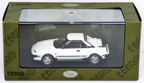 Ebbro 44404 Toyota MR-2 1984 (White) 1/43 Scale
