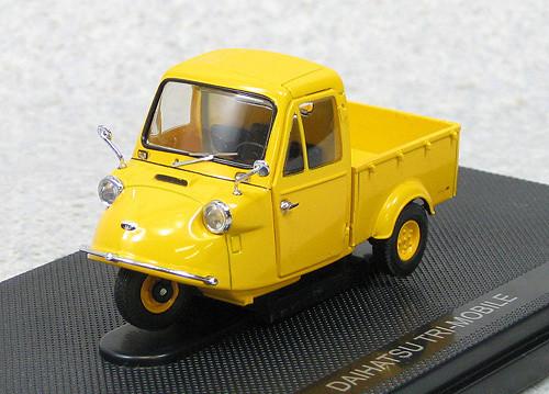 Ebbro 44415 Daihatsu Tri-Mobile 1959 (Yellow) 1/43 Scale