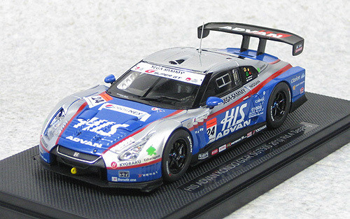 Ebbro 44428 HIS Advan Kondo GT-R Super GT500 2010 Sepang No.24 (Blue/Silver)