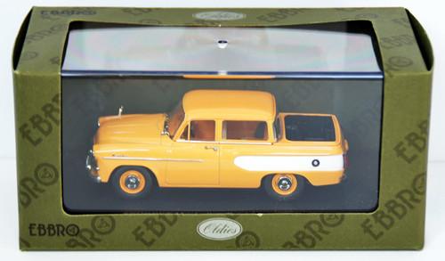 Ebbro 44431 Toyopet Masterline Double Pick Up 1959 (Yellow) 1/43 Scale