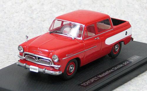 Ebbro 44432 Toyopet Masterline Double Pickup 1959 (Red) 1/43 Scale