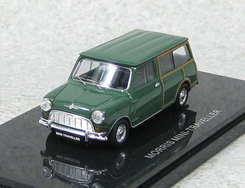 Ebbro 44501 Morris Mini Traveller (Green) 1/43 Scale