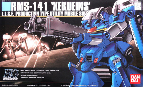 Bandai HGUC 024 Gundam RMS-141 XEKUEINS 1/144 Scale Kit