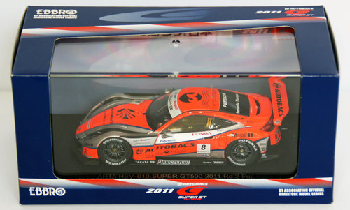 Ebbro 44546 Super GT500 Arta Hsv-010 Rd.2 Fuji 1/43 Scale