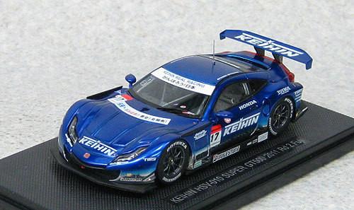 Ebbro 44547 Keihin HSV-010 Super GT500 2011 No.17 (Blue) 1/43 Scale