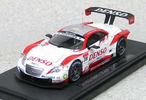 Ebbro 44555 DENSO Third SC430 Super GT500 2011 No.39 (White/Red) 1/43 Scale