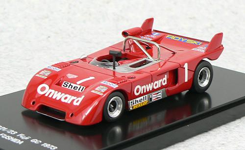 Ebbro 45007 Chevron B21/23 Fuji GC 1973 No.1 (Red) 1/43 Scale