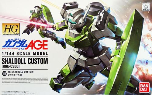 Bandai Gundam HG AGE-18 AGE-2 SHALDOLL CUSTOM (RGE-C350) 1/144 Scale Kit