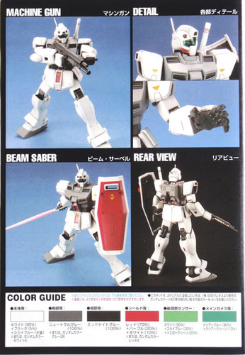 Bandai HGUC 038 Gundam RGM-79D GM COLD DISTRICTS 1/144 Scale Kit