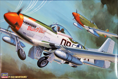 Hasegawa ST05 P-51D Mustang 1/32 Scale Kit