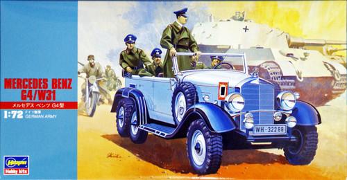 Hasegawa MT28 German Army Mercedes Benz G4/W31 Wagen 1/72 Scale Kit