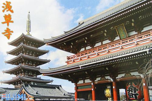Fujimi Tatemono-20 Tokyo Asakusa Temple non-Scale Kit