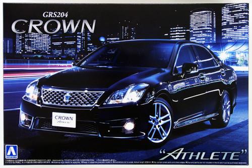 Aoshima 49396 Toyota Crown Athlete 2010 (GRS204) 1/24 Scale Kit