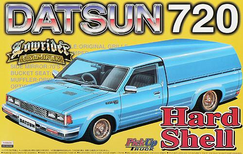 Aoshima 29091 Datsun 720 Hard Shell (Pick Up Truck) 1/24 Scale Kit