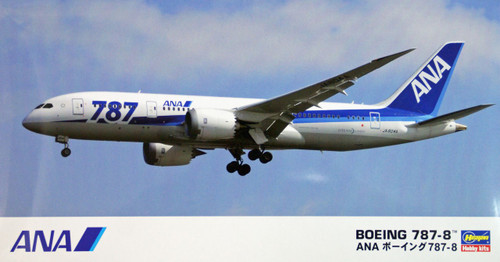 Hasegawa 16 ANA All Nippon Airways Boeing 787-8 1/200 Scale Kit