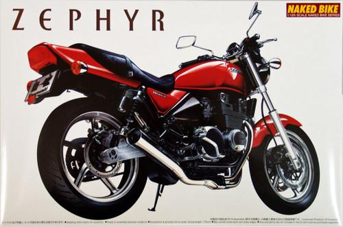 Aoshima Naked Bike 10 41659 Kawasaki Zephyr 1/12 Scale Kit