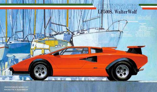 Fujimi EM15 Lamborghini Countach LP500S Walter Wolf 1/24 Scale Kit