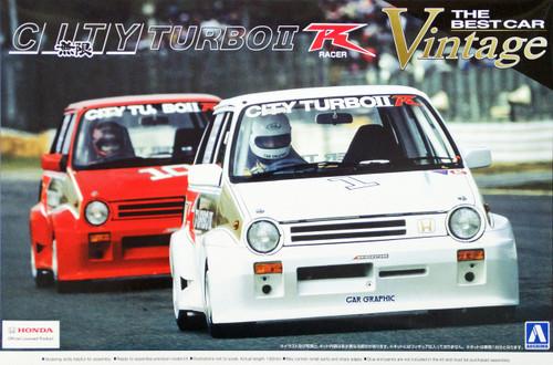 Aoshima 04708 Honda CITY Turbo II Racer 1983 1/24 Scale Kit