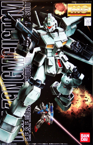 Bandai MG 716916 Gundam RGM-79N GM CUSTOM 1/100 Scale Kit