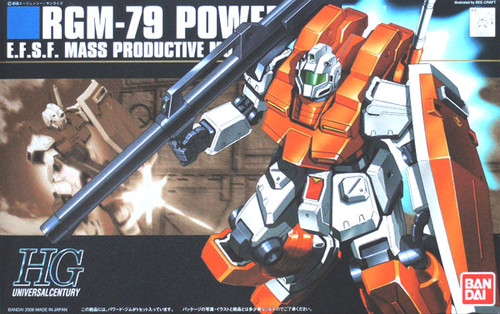 Bandai HGUC 067 Gundam RGM-79 POWERED GM 1/144 Scale Kit