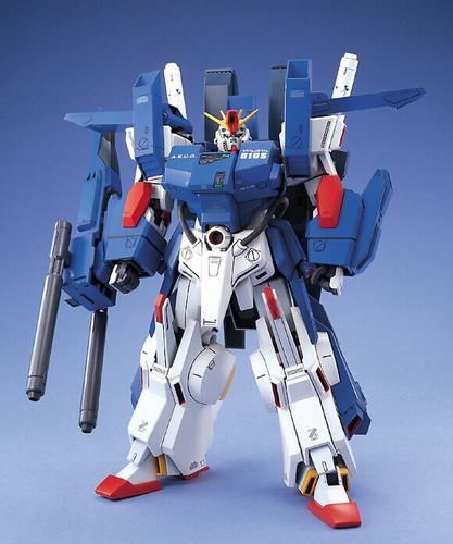 Bandai MG 771670 Gundam FA-010S Full Armor ZZ Gundam 1/100 Scale Kit