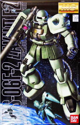 Bandai MG 094643 Gundam MS-06F-2 ZAKU II F-2 1/100 Scale Kit
