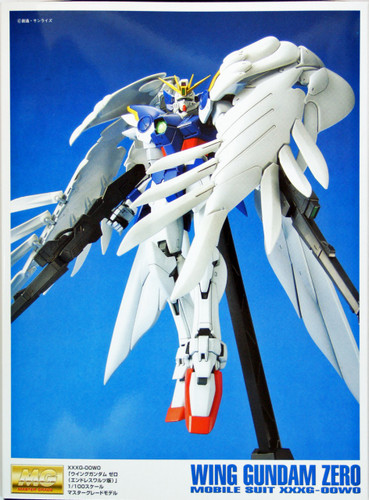 Bandai MG 294548 Gundam WING Gundam ZERO Endless Waltz 1/100 Scale Kit