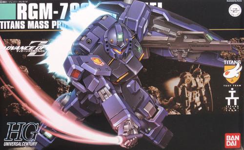 Bandai HGUC 074 Gundam RGM-79Q GM QUEL 1/144 Scale Kit