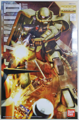 Bandai MG 531445 Gundam MS-06F Zaku II Version2.0 1/100 Scale Kit