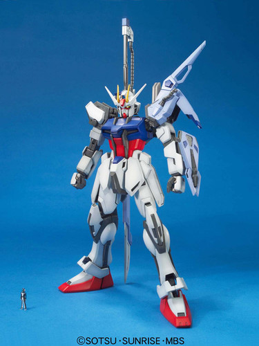 Bandai MG 538017 STRIKE Gundam LAUNCHER SWORD 1/100 Scale Kit