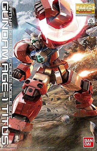 Bandai MG 753175 Gundam Age-1 Titus 1/100 Scale Kit