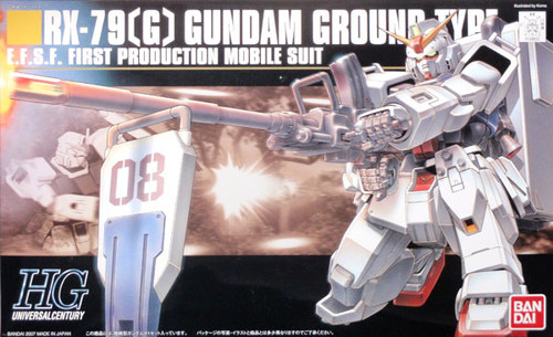 Bandai HGUC 079 Gundam RX-79(G) GROUND TYPE 1/144 Scale Kit