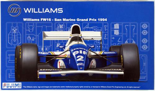 Fujimi GP14 090580 F1 Williams FW16 San Marino GP 1994 1/20 Scale Kit