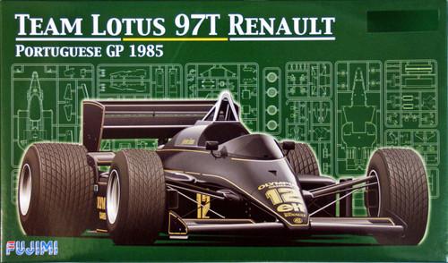 Fujimi GP23 090641 F1 Team Lotus 97T Renault Portuguese GP 1985 1/20 Scale Kit 090641