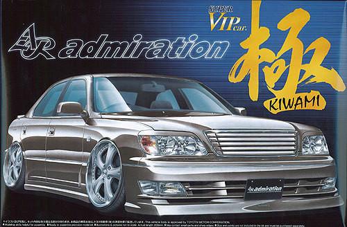 Aoshima 04166 Toyota Celsior (UCF21) AR admiration 1/24 Scale Kit