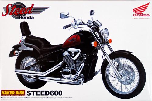 Aoshima Naked Bike 17 42489 Honda Steed 600 1/12 Scale Kit